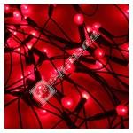 100 Red Berry Light Set - UK Plug