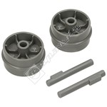 Vacuum Cleaner Front Small Wheel Kit - Pack of 2