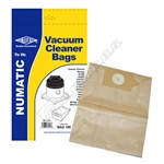 High Quality Replacement BAG109 Numatic 2B Vacuum Dust Bags - Pack of 5