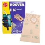 H16 Vacuum Cleaner Paper Bags - Pack of 5
