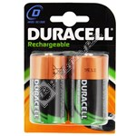 Duracell D Rechargeable Batteries - 2 Pack
