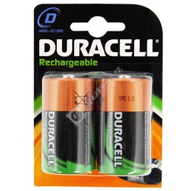 Duracell D Rechargeable Batteries - 2 Pack - ES1387104