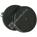 Cooker Hood Active Carbon Filter - Pack of 2