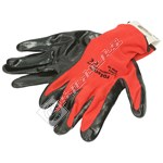Rolson Nitrile Coated Work Gloves - Large