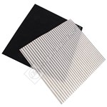 Universal Deep Fat Fryer Grease Filter Set