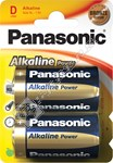 Panasonic LR20 D Alkaline Power Batteries - Twin Pack