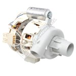 Dishwasher Wash Pump & Capacitor Nidec - Sole Type 887084896