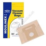 Electruepart BAG188 Moulinex B07 Vacuum Dust Bags - Pack of 5