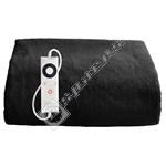 Dreamland 16451 Relaxwell Intelliheat Luxury Velvety Heated Throw - Black
