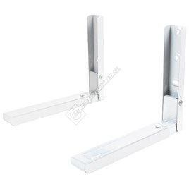 Electrolux White Microwave Oven Wall Bracket (1 Pair) for EME2360 - ES1671591