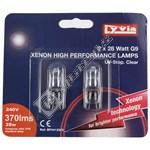 Lyvia 28W G9 Capsule Xenon Bulb - Warm White