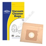 BAG9355 Tesco VC108 Cylinder Vacuum Dust Bags - Pack of 5