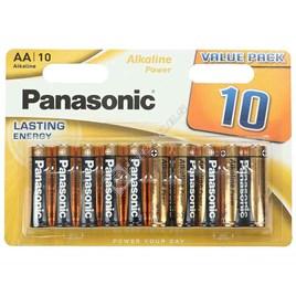 Panasonic AA Alkaline Power Batteries - Pack of 10 - ES1553984