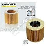 Vacuum Cleaner Wet and Dry Filter Cartridge