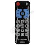 Universal Panasonic Basic Function TV Remote Control