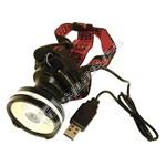 Rolson 3W COB USB Rechargeable LED Headlamp