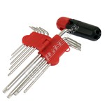 9 Piece Torx Head Screwdriver Set