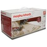 Morphy Richards 600014 King Dual Washable Fleece Heated Underblanket