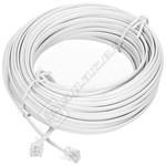 ADSL 20M Modem Cable RJ11 Plug to RJ11 Plug