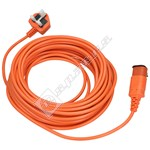 Flymo 15m Replacement Mains Cable (UK Plug)
