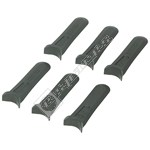 FLY014 Plastic Lawnmower Blades - Pack of 6