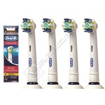Braun Oral B Floss Action Toothbrush Heads - EB25-4