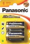 Panasonic C Alkaline Power Batteries