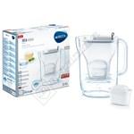 Brita 1021884 Style M+ Grey Water Filter Jug 2.4L