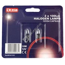 10W G4 Capsule Halogen Bulbs - Warm White - ES1751191