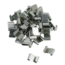 GH002 10mm Stainless Steel Lap Clips - ES209091
