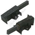 Washing Machine FHP/ACC MOTOR Carbon Brush and Holder - Pack of 2