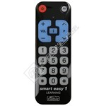 Compatible Smart Easy1 Learning TV Remote Control