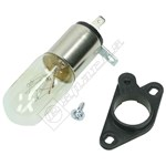 25W Microwave Bulb and Base Assembly