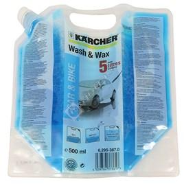 Karcher Pressure Washer Wash & Wax Concentrated Detergent - 500ml for K5.50M - ES1086431
