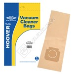 Electruepart BAG246 Hoover Vacuum Dust Bags (Open Type) - Pack of 5