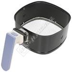 Airfryer Basket Holder - White