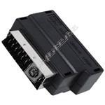 Scart Plug to 3 Phono S-VHS Socket Adaptor