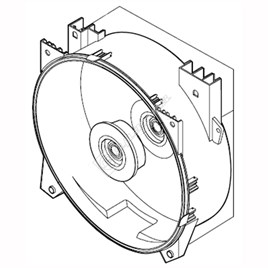 Washing Machine Rear Tub - ES1578451
