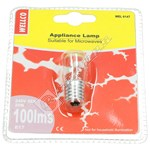 20W E17 Microwave Incandescent Bulb - Warm White