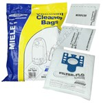 BAG338 High Quality Miele GN 3D Filter-Flo Synthetic Dust Bags - Pack Of 4