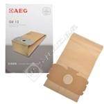 GR12 (Grobe 12) Vacuum Cleaner Paper Bag - Pack of 5