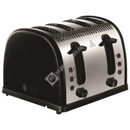 Russell Hobbs 21303 Legacy 4 Slice Toaster - Black - ES1780850