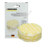Karcher Floor Polisher Stone/Linoleum/PVC Polishing Pads