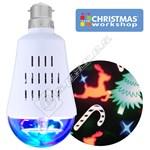 The Christmas Workshop Festive LED Projector Bulb