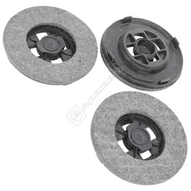 Hoover Polishing/Waxing Pads (Z16) - Pack of 3 - ES1384364
