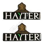 Lawnmower Decal Hayter Logo