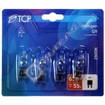 TCP G9 42W Halogen Capsule Lamp - Pack of 4