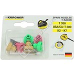 K2-K7 Pressure Washer T-Racer Replacement Nozzles