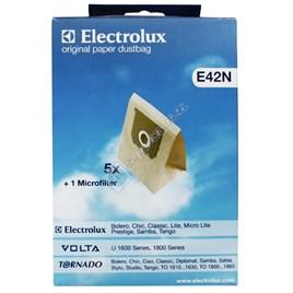 Vacuum Cleaner E42N Paper Bag (Pack of 5) - ES101123