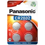 CR2032 Lithium Coin Cell Battery (Pack of 4)